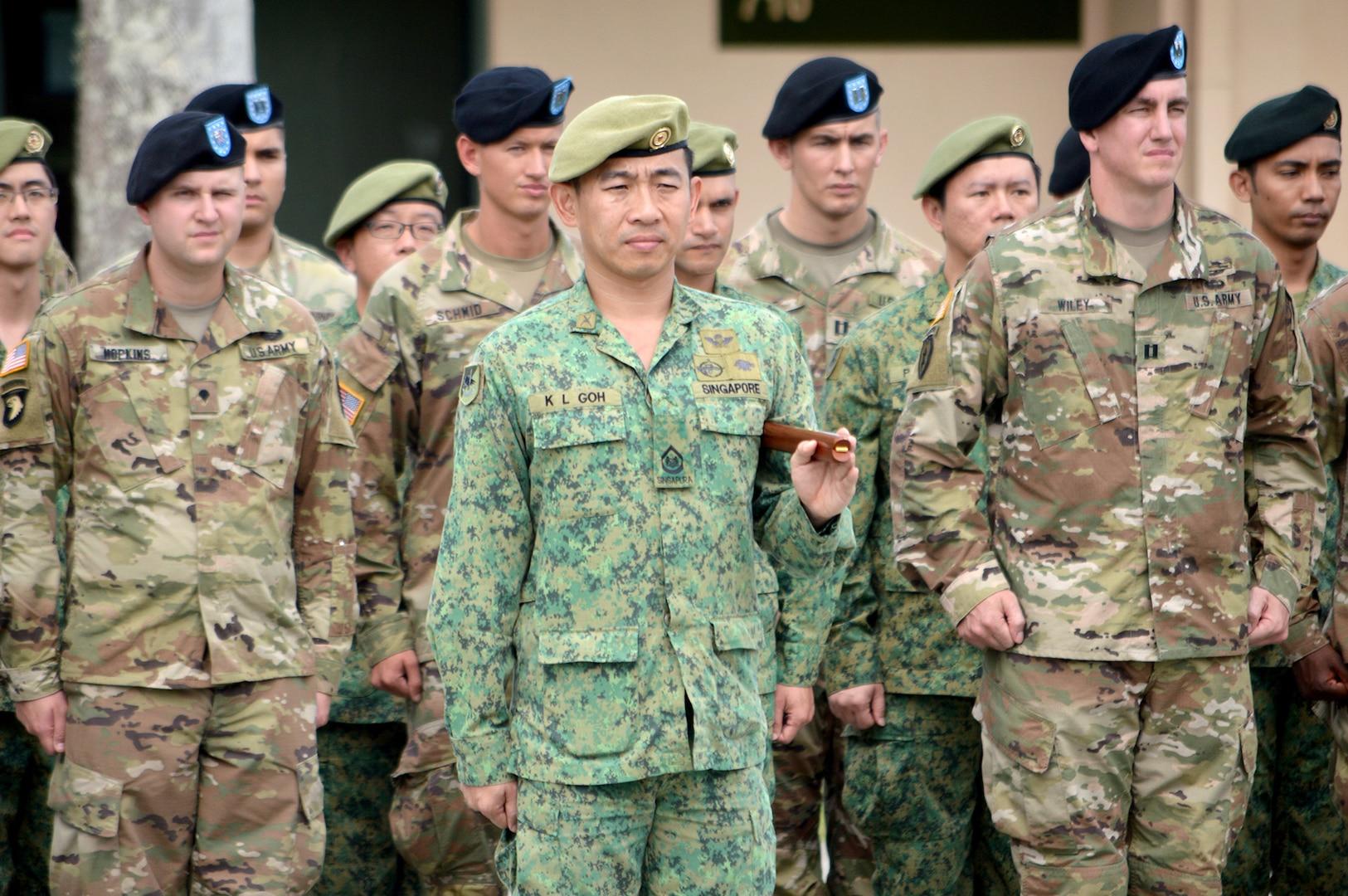 US, Singapore armies conclude Tiger Balm 18