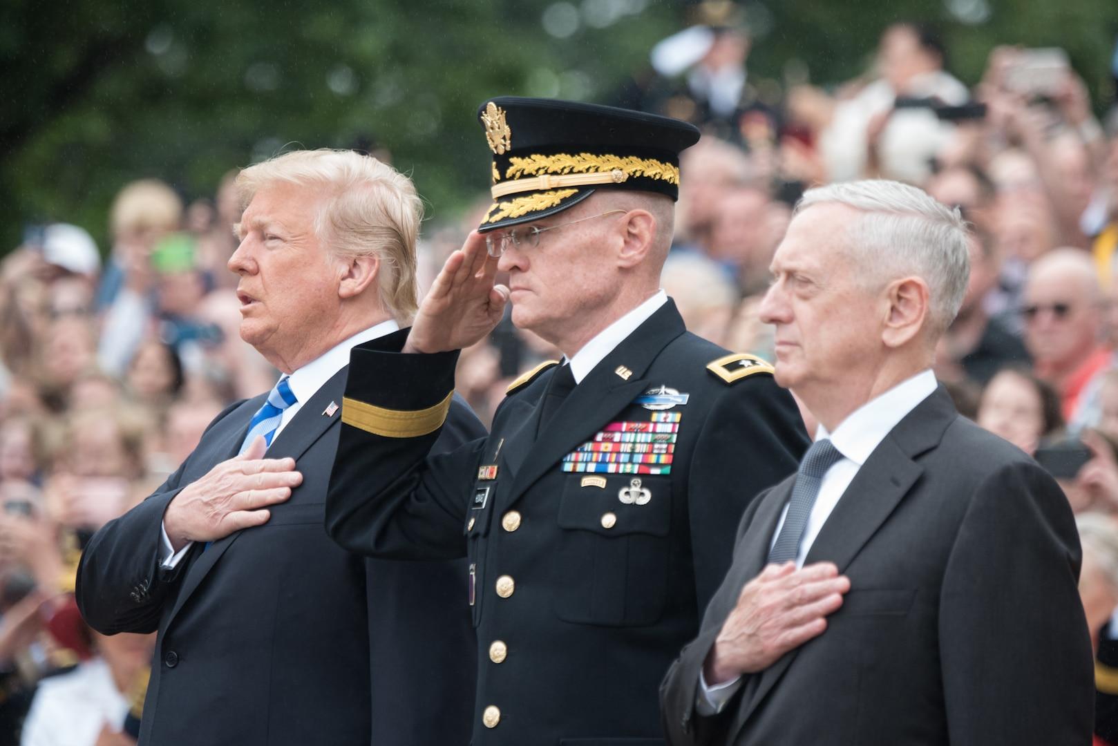 'America's Greatest Heroes,' Trump, Defense Leaders Honor Fallen