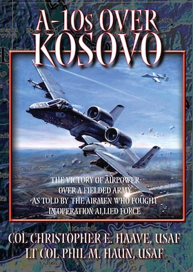 Book Cover - A-10s over Kosovo