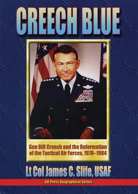 Book Cover - Creech Blue