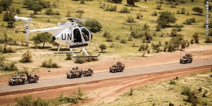 El Salvador contributes military helicopters and a contingent of ninety peacekeepers to peacekeeping efforts in Mali