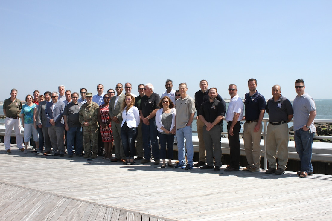 On May 25, 2018, USACE and its partners celebrated the completion of the Absecon Inlet seawall and boardwalk rebuild in Atlantic City, New Jersey. The project accomplishes two goals - reduces the risk of storm damages for the community and restores access to recreational opportunities along the inlet.