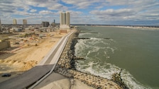 The U.S. Army Corps of Engineers' Philadelphia District and its contractor built two sections of a seawall and rebuilt portions of the Atlantic City boardwalk along the Absecon Inlet in Atlantic City, N.J. Work was completed in April of 2018 and is designed to reduce damages from coastal storms.