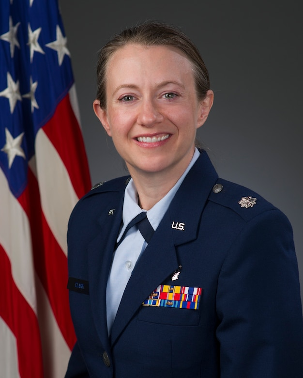 Lt. Col. Heidi Clark, official photo, U.S. Air Force