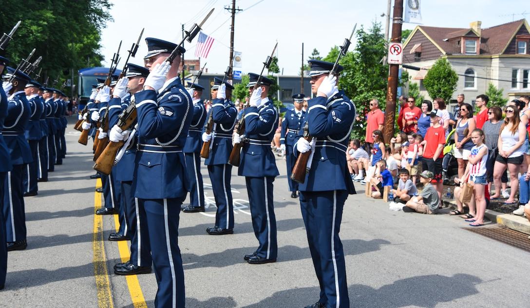 ending the parade