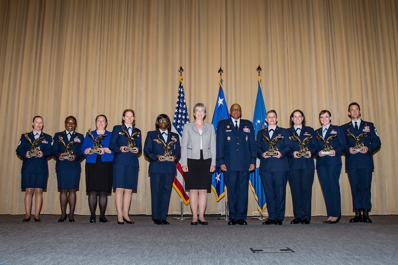 SecAF recognizes exceptional Air University Airmen