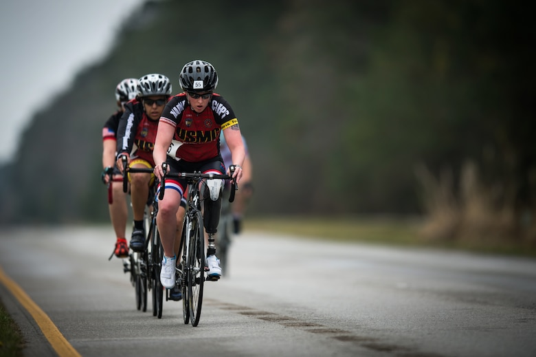 2018 Marine Corps Trials cycling competition