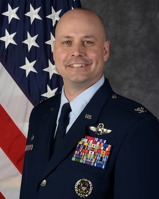 Col. Bradley L. Cochran, 5th Bomb Wing commander