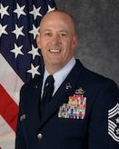 Chief Master Sgt. Brent S. Sheehan, 5th Bomb Wing command chief.