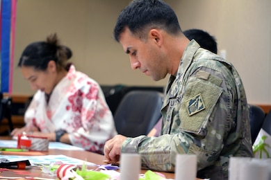 In honor of Asian Pacific American Heritage Month District staff got hands on learning during an Origami Class May 15. The class was part of Spirit Week focusing on different cultures each day.