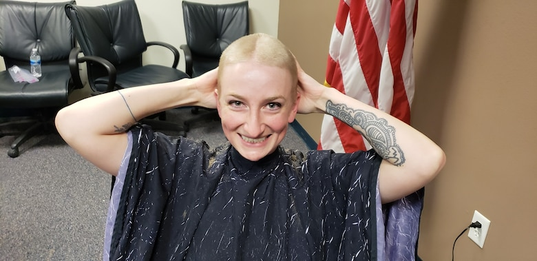 Hair Raising Event Helps Unit Morale Welfare And Recreation Fund At