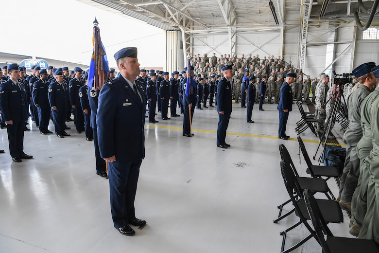 Team Minot welcomed the new 5th BW commander, Col. Bradley Cochran, at Minot Air Force Base, North Dakota, May 31, 2018.
