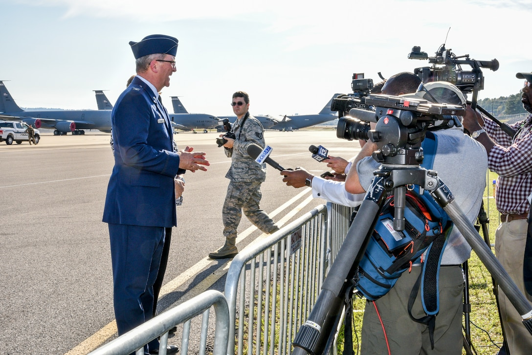 Vice President Mike Pence and Alabama Governor Ivey Visits 117th Air Refueling Wing