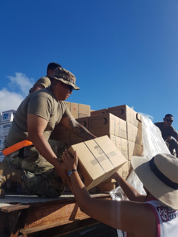 Army Reserve answers call for Typhoon Yutu disaster support relief