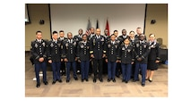 17 Soldiers from both Fort Knox and Fort Campbell, KY, took the oath of citizenship.