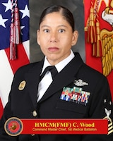 Command Master Chief, 1st Medical Battalion