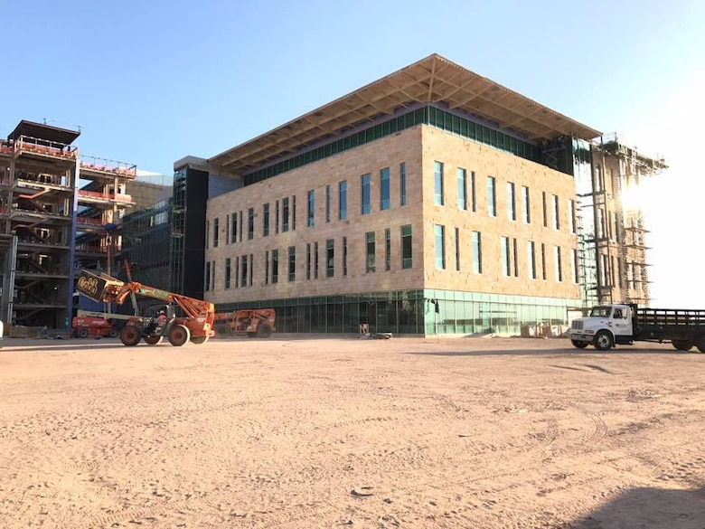 The Fort Bliss Replacement Hospital, a campus with over 1.13 million square feet, is slated to replace the current William Beaumont Army Medical Center.