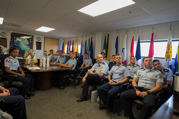 Latin American Cadets visit SOUTHCOM air component