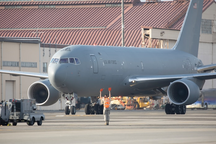 A Boeing KC-46A Pegasus