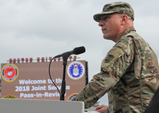 Army Reserve general encourages STEM studies for ROTC cadets