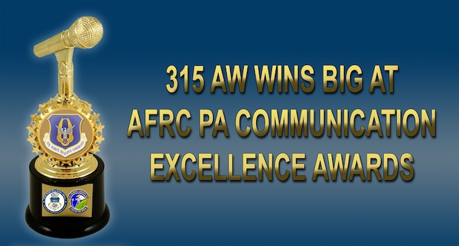 315  AW wins big at AFRC comm excellence awards