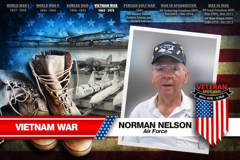 Today's spotlight is Air Force veteran Norman Nelson.