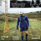 West Virginia Army National Guard Soldier Cpl. Avery Liller completed the three-day, 91.1 mile West Virginia Trilogy ultramarathon held Oct. 12-14, 2018.