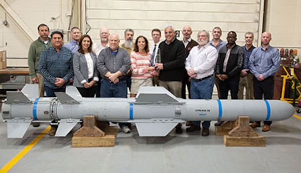 NUWC Division Newport's Harpoon Demo Team wins NDIA Ferguson Systems Engineering Excellence Award