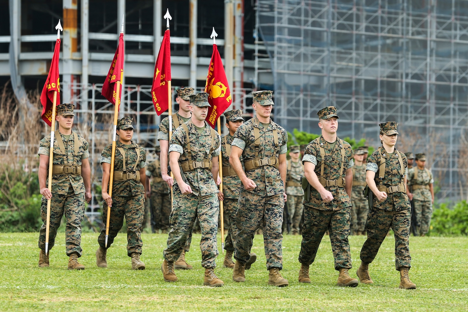 New title, same mission | 3rd MLG redesignation ceremony for HQ Regiment to CLR-37