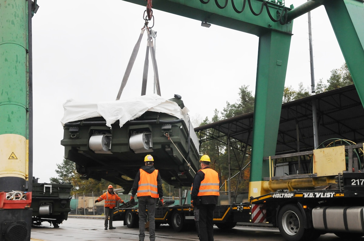New Bridge Erection Boats arrive to European theater