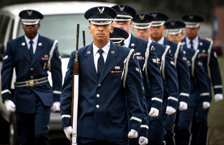 Honor Guard graduation