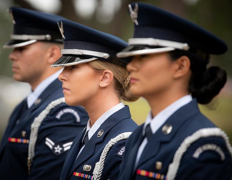 Honor Guard graduation