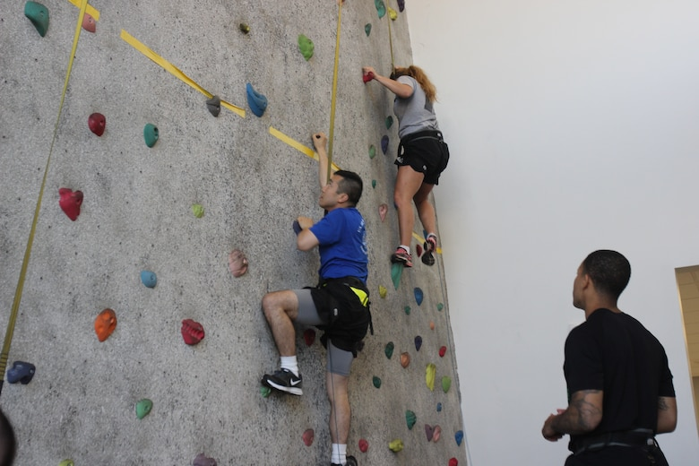 Wright-Patt Outdoor Recreation offers indoor programs during the winter months. Airmen eligible under the Recharge for Resiliency program can participate in the activities at discounted rates. Indoor rock climbing is one of the programs available for the month of November.