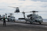 Carrier Air Wing 5 Sharpens Anti-submarine Warfare Skills during Keen Sword