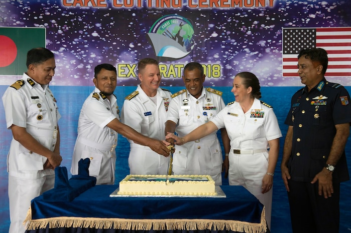 U.S. and Bangladesh Navies begin CARAT Exercise