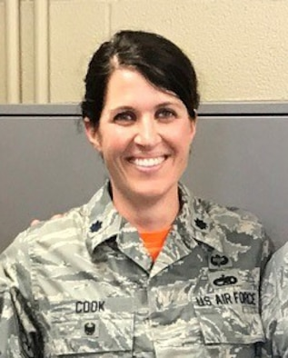 Lt. Col. Erin Cook official photo