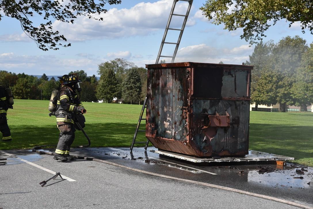 Full-scale exercise tests installation preparedness, emergency response