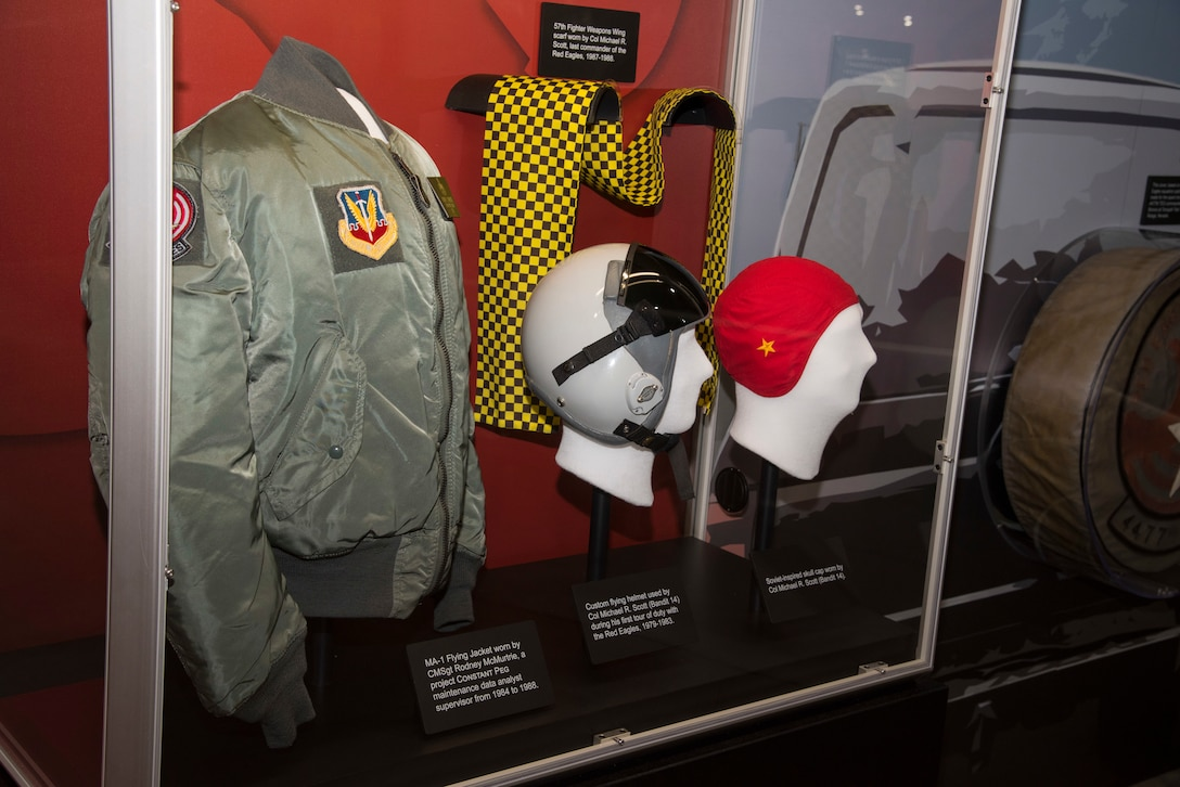 DAYTON, Ohio -- Constant Peg: Secret MiGs in the Desert exhibit on display in the Cold War Gallery at the National Museum of the U.S. Air Force. (U.S. Air Force photo by Ken LaRock)