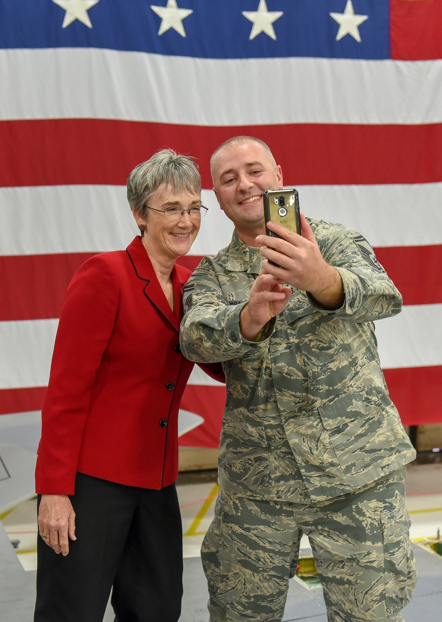 Secretary of the Air Force visits Kingsley Field