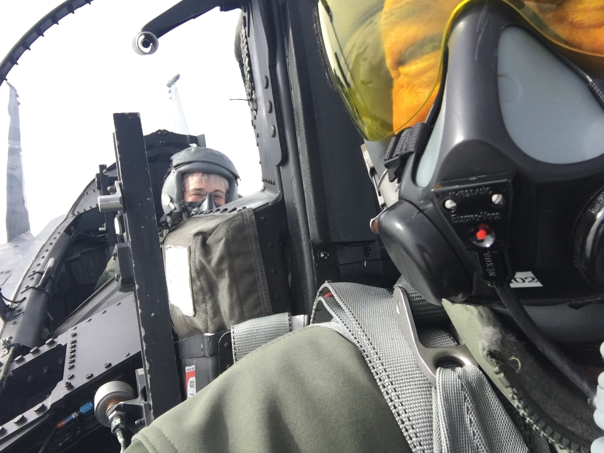 Secretary fo the Air Force flies with 173rd Fighter Wing