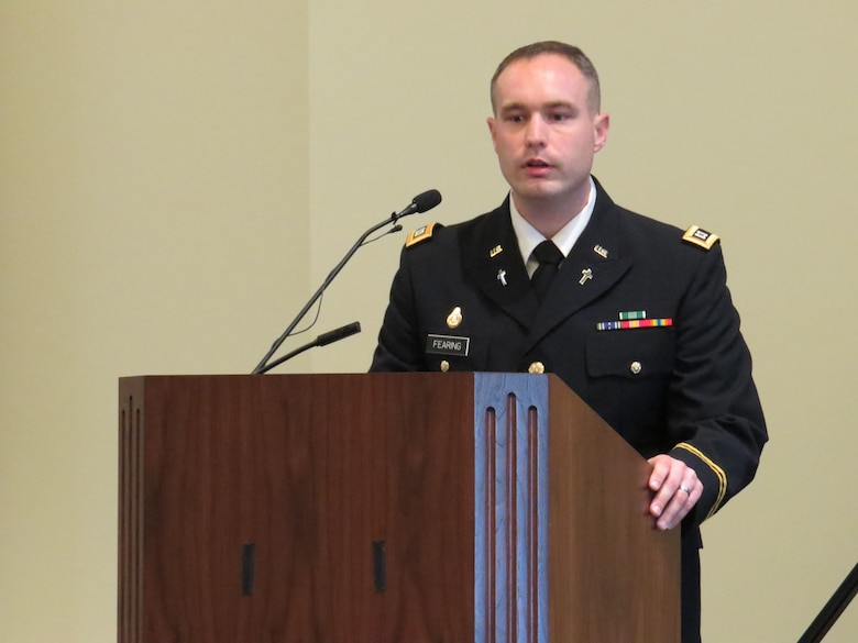 """851st Transportation Company remembers """"diligent"""" Army Reserve Soldier"""