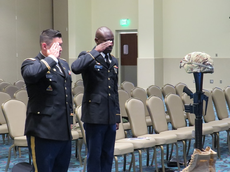 "851st Transportation Company remembers ""diligent"" Army Reserve Soldier"
