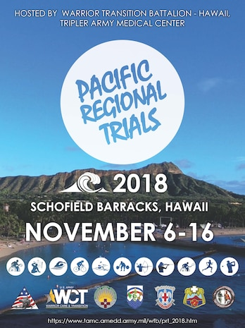 Pacific Regional Trials (Wounded Warrior Games) Coming to Schofield Barracks Nov. 6-16