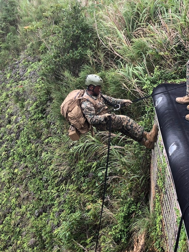 Tactical Rope Suspension Training