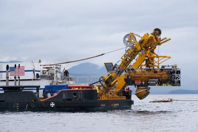 Undersea Rescue Command completes submarine rescue exercise off Alaska
