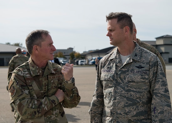 Goldfein is the 21st CSAF and focuses on revitalizing squadrons, strengthening joint leaders and teams, and advancing multi-domain, multi-functional command and control.
