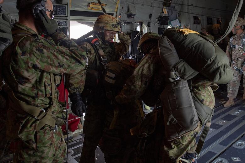 JGSDF soldiers