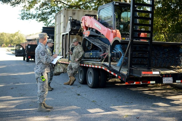 116th Civil Engineers support Hurricane Michael relief efforts