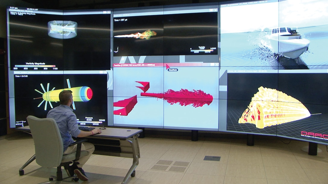 U.S. Army Research Laboratory's DOD Supercomputing Resource Center uses high-performance computing to increase mission effectiveness and advance modernization priorities, November 2017 (U.S. Army)