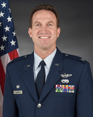 108th Wing Commander Col. John M. Cosgrove official photo